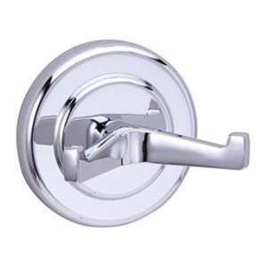 Taymor Kingston Polished Chrome Double Robe Hook