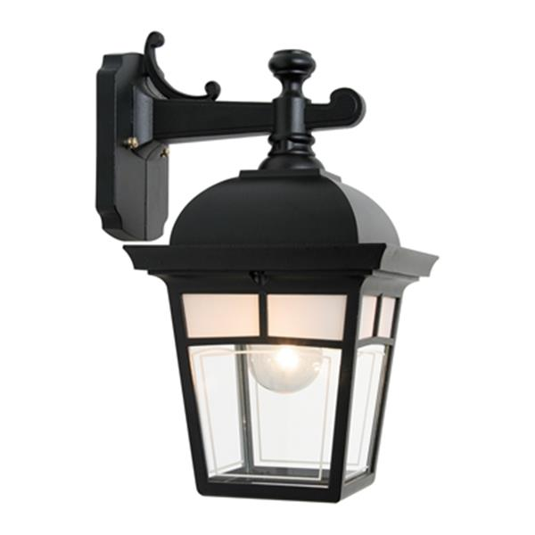 SNOC Imagine 14.5-in Black Wall Mounted Outdoor Light