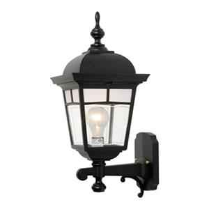 SNOC Imagine 19.12-in Black Wall Mounted Outdoor Light