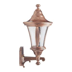 SNOC Orion 20.38-in Antique Copper Wall Mounted Outdoor Light