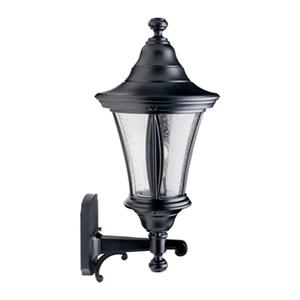 SNOC Orion 20.38-in Black Wall Mounted Outdoor Light