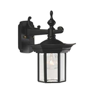 SNOC Royal 12.62-in Black Wall Mounted Outdoor Sconce