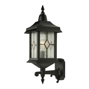 SNOC Victoria 21-in Black Wall Mounted Outdoor Sconce