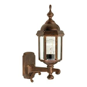 SNOC Vintage l 16.88-in Antique Copper Wall Mounted Outdoor Light
