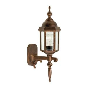 SNOC Vintage l 20.5-in Antique Copper Wall Mounted Outdoor Sconce
