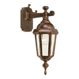 SNOC Vintage ll 17-in Antiqu Copper Wall Mounted Outdoor Sconce