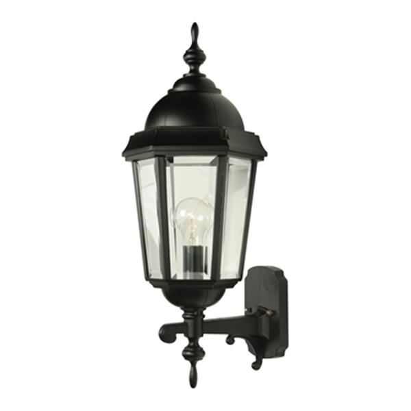 SNOC Vintage ll 23-in Black Wall Mounted Outdoor Sconce