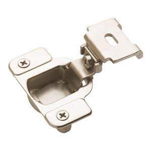 Amerock 1 1/4-in Nickel Overlay Matrix Concealed Hinge (2 Pack)
