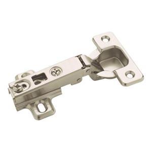 Amerock Full Overlay Nickel Frameless Concealed Hinge (2 Pack)