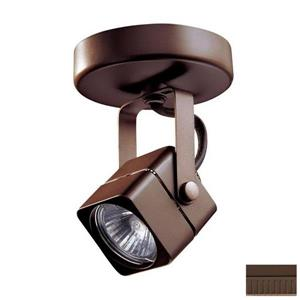 Kendal Lighting 5-in Oil-Rubbed Bronze 1-Light Flush Mount Fixed Track Light Kit