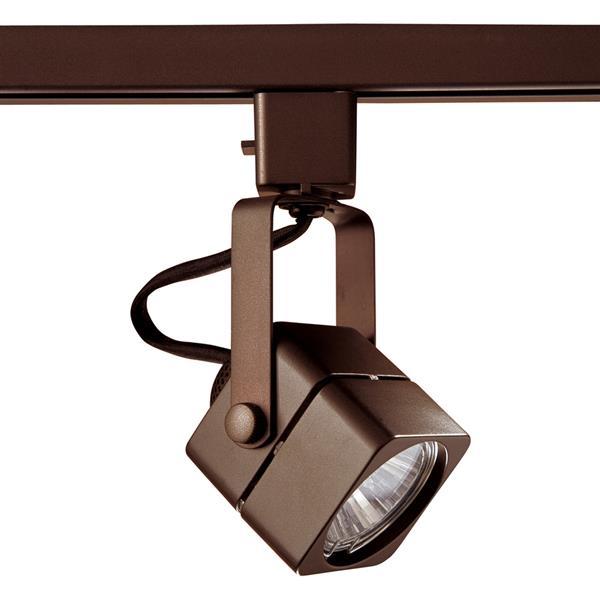 Kendal Lighting 1-Light Oil Rubbed Bronze Pinhole Linear Track Lighting Head