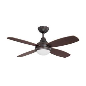 Kendal Lighting Aviator 42-in Copper Bronze 4 Blade Indoor Ceiling Fan with Light Kit and Remote