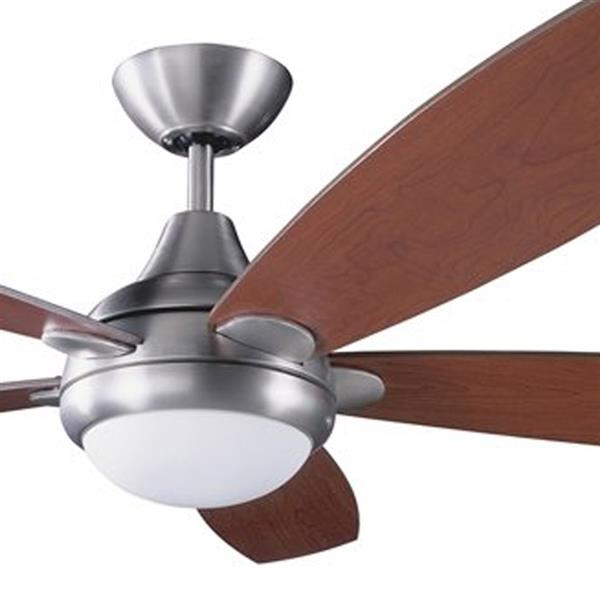 Kendal Lighting Espirit 52-in Satin Nickel Indoor Ceiling Fan with Light Kit and Remote