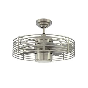 Kendal Lighting Enclave 23-in Satin Nickel 7 Blade Indoor Ceiling Fan with Light Kit and Remote