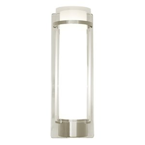 DVI Essex 5-in W 1-Light Buffed Nickel Ambient Hardwired Wall Sconce