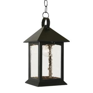 SNOC 81435 Heritage Outdoor Pendant Light,81435BK