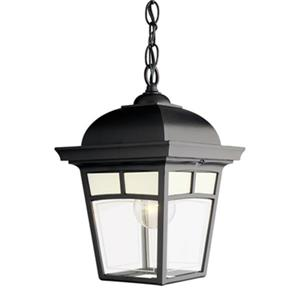 SNOC 81390 Imagine Outdoor Pendant Light,81390BK
