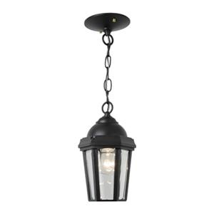SNOC 81003 Vintage II Outdoor Pendant Light,81003BK