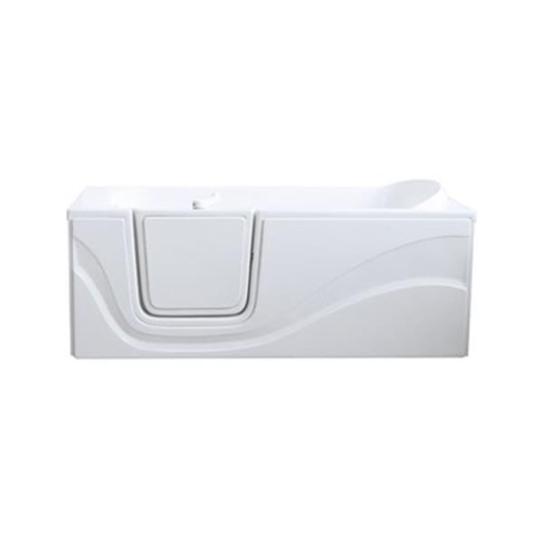 Aquam Spas 6030 LD Lay Down Walk-in Air Bath Bathtub