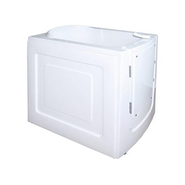 Aquam Spas 3833 Front Entry Walk-in Air Spa Bathtub