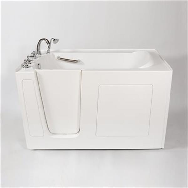 Aquam Spas 6030 Walk-in Air Bath Bathtub,Aquam 6030 LH