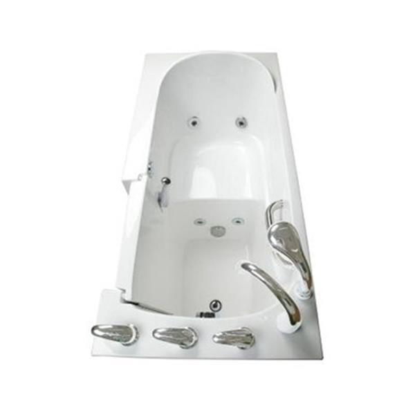 Aquam Spas 5326 LT Low Threshold Walk-in Whirlpool Bathtub