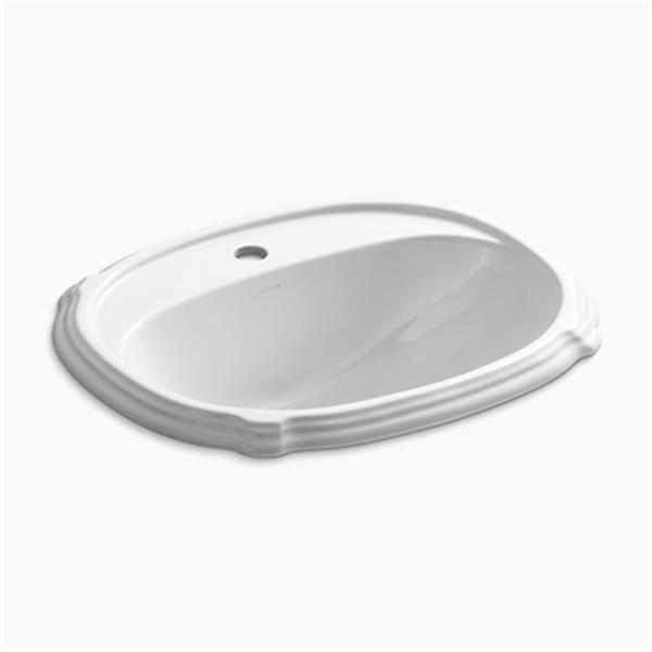 KOHLER Portrait 22.63-in Cashmere Self-Rimming Sink