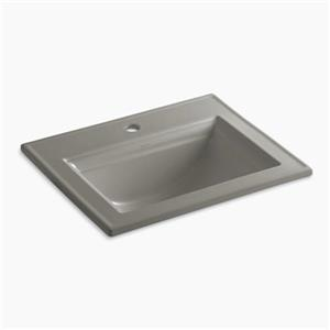 Kohler Memoirs 22.75-in Cashmere Self-Rimming Sink with Stately Design