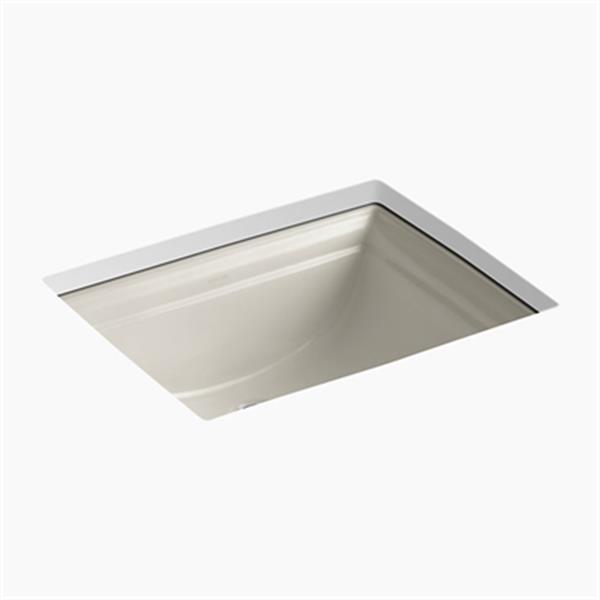 KOHLER Memoirs 20.68-in Sandbar Undercounter Sink