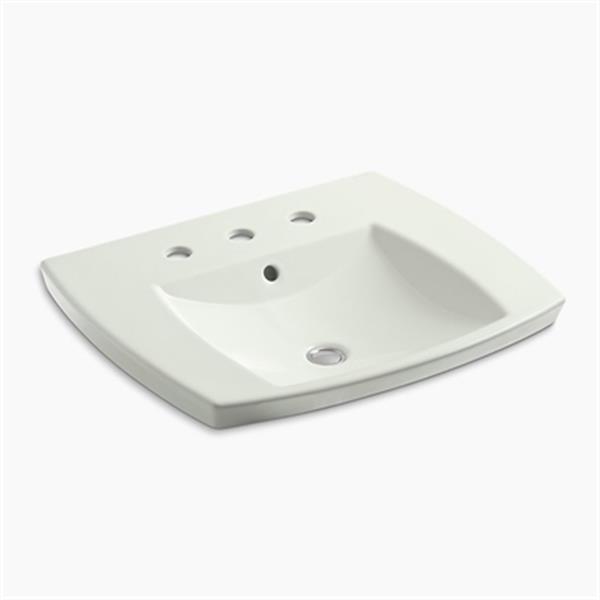 KOHLER Kelston 5.31-in x 23.43-in Dune Self-Rimming Sink