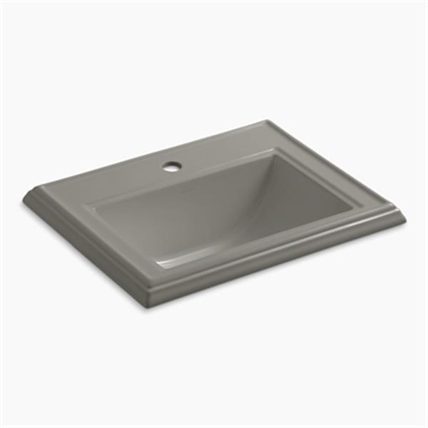 KOHLER Memoirs 2.75-in x 8.75-in Cashmere Rectangular Self Rimming Sink
