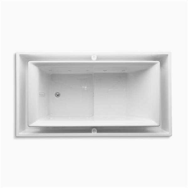KOHLER 75-in x 41-in Drop-in Effervescence Bath