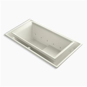 KOHLER 75-in x 41-in Drop-in Effervescence Bath