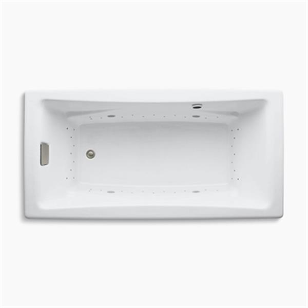 KOHLER BubbleMassage 72-in x 36-in Drop-in Air Bath