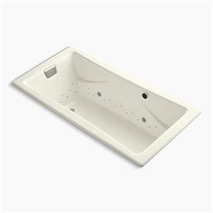 KOHLER BubbleMassage 72-in x 36-in Drop-in Air Bath