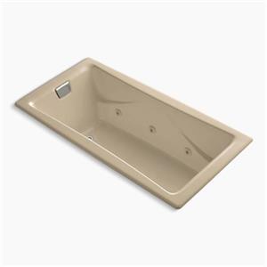 Kohler Co. 865-HM Tea-for-Two 72-in x 36-in Drop-in Whirlpoo