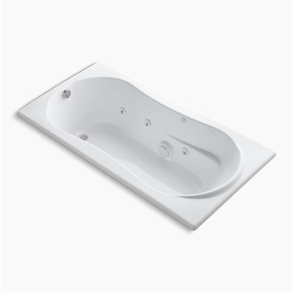 KOHLER 72-in x 36-in Drop-in Whirlpool with Heater