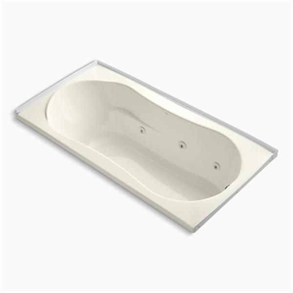 KOHLER 72-in x 36-in Alcove Whirlpool with Tile Flange and Drain