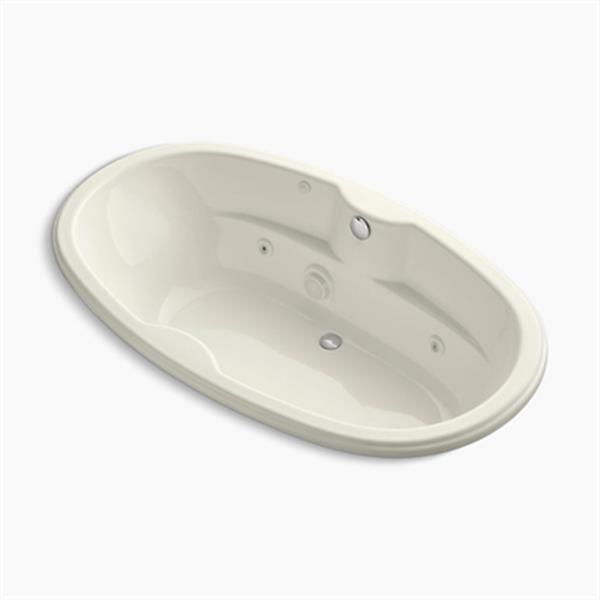 KOHLER 72-in x 42-in Drop-in Whirlpool
