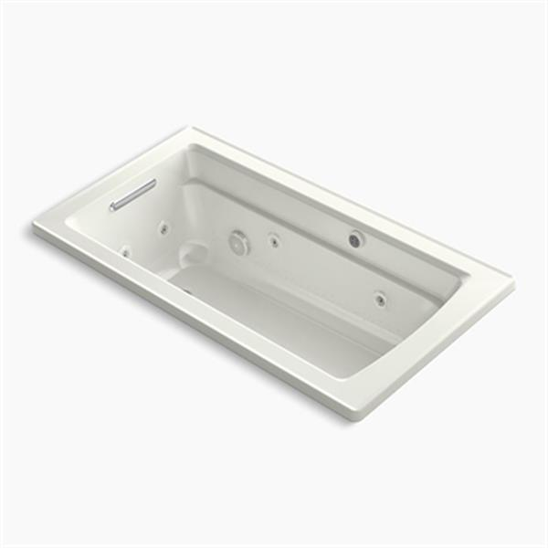 KOHLER 60-in x 32-in Drop-in Whirlpool and Bubblemassage Air Bath