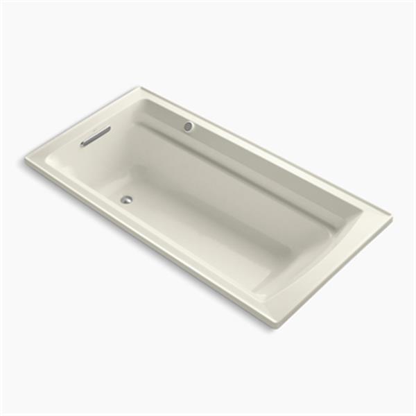 KOHLER 72-in x 36-in Drop-in BubbleMassage Air Bath