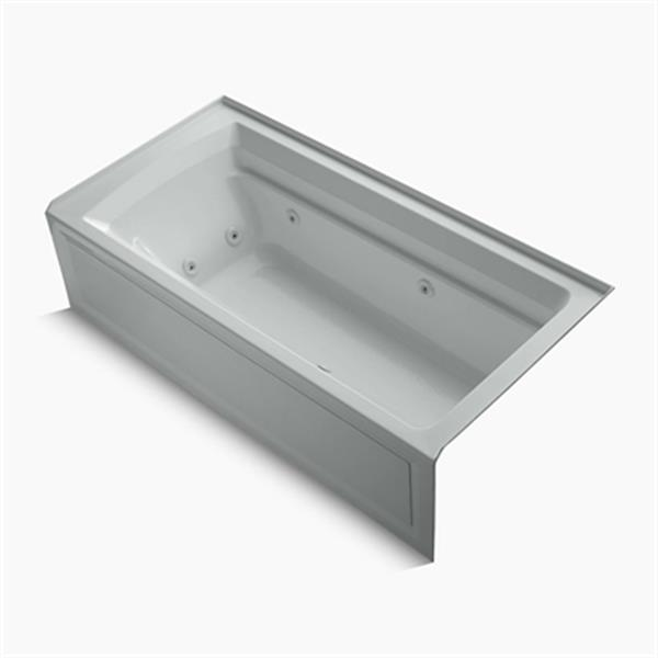 KOHLER 72-in x 36-in Alcove Whirlpool with Integral Apron