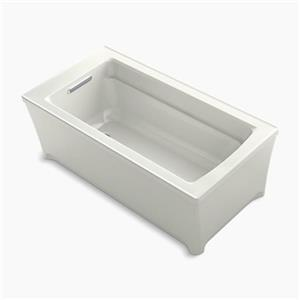 KOHLER 62-in x 32-in Freestanding VibrAcoustic Bath