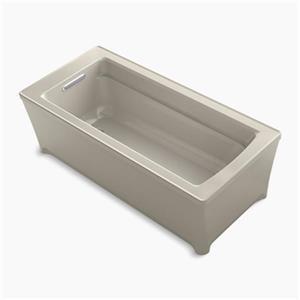 KOHLER 68-in x 32-in Freestanding VibrAcoustic Bath
