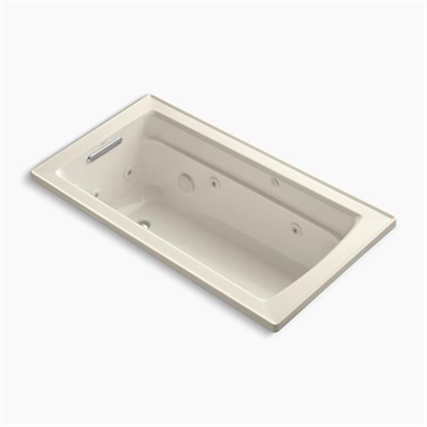 KOHLER 60-in x 32-in Drop-in Whirlpool Tub
