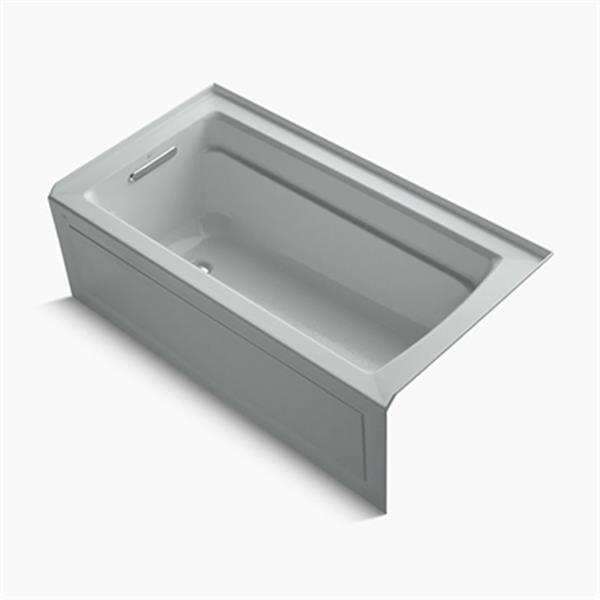 KOHLER 60-in x 32-in Alcove Bath with Integral Apron and Flange