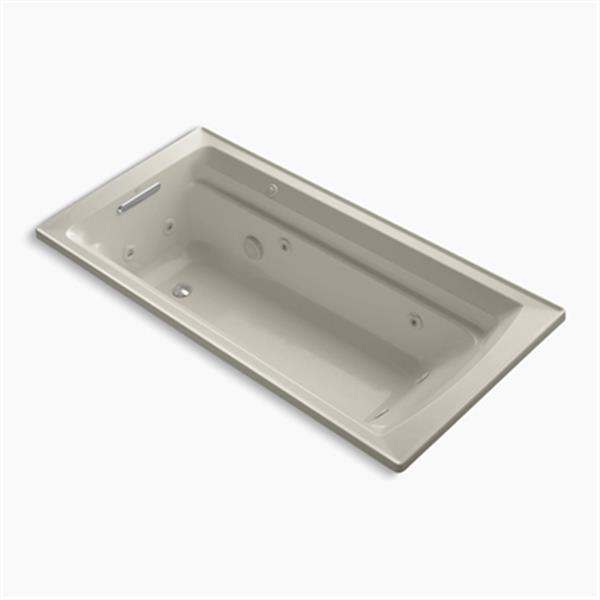 KOHLER 72-in x 36-in Drop-in Whirlpool