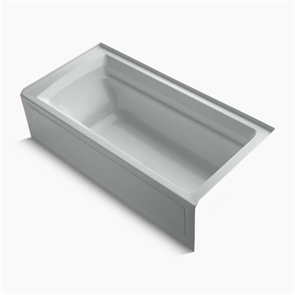 KOHLER 72-in x 36-in Alcove Bath with Integral Apron and Drain