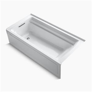 KOHLER 72-in x 36-in Alcove Bath with Integral Apron