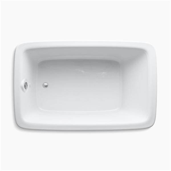 KOHLER 66-in x 42-in Drop-in Bath
